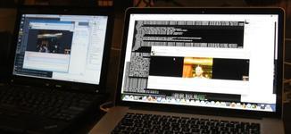First working call over Instantbird WebRTC.